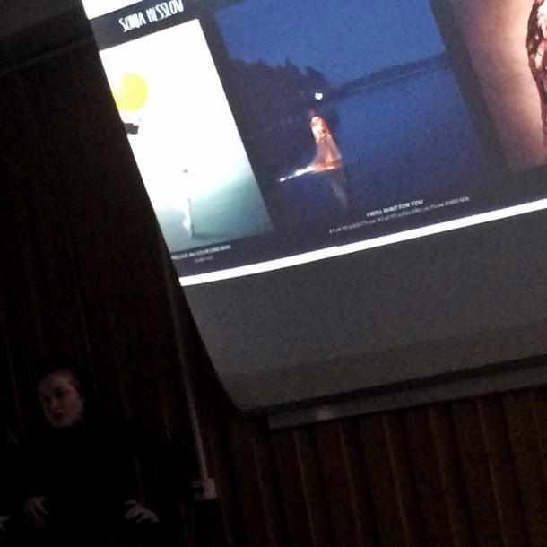 Sonja Hesslow berättar om sitt arbete