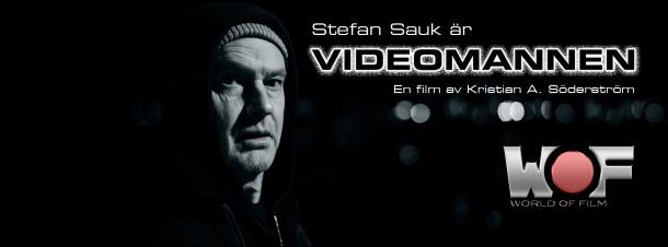 Stefan Sauk är Video mannen i filmen med samma namn av Kristian A Söderström. foto Josef Persson